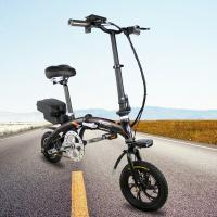 Buy 3-5hrs Charging Time Folding Electric Bike 6061 Aluminum Alloy YT C1 Color Black at wholesale prices