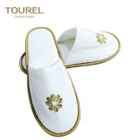 Buy cheap Handmade fashion Closed toe disposable hotel slippers from wholesalers