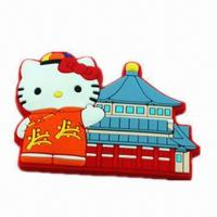 Quality PVC Fridge Magnet, Custom Design with 2D or 3D Effect, Any Color is Available for sale