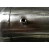 Buy Stainless Steel Vertical Air Receiver Tank 3000psi Pressure ASME Certificate at wholesale prices