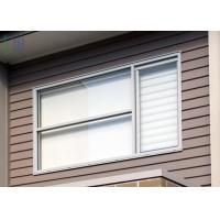 Quality Thermal Break System Aluminium Vertical Sliding Windows with Grill Design for sale