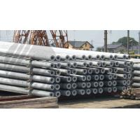 Quality Hollow pole Concrete Pole Steel Mould Concrete Pole Equipment dense and high strength for sale