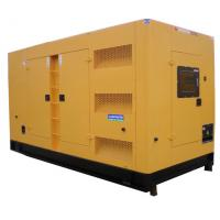 Quality Three Phase Output Silent Diesel Generator Set 200kva Electric Motor Starting System for sale
