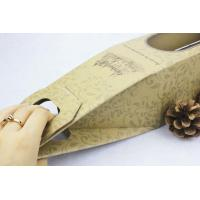 Quality Premium promotional  creative Paper Gift Boxes for red wine , easy taking for sale