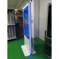 Quality Vertical Led Strip Light Base Touch Screen Kiosk 49 55 Inch Wide Viewing Angle for sale