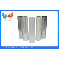 Quality Cosmetic Packaging Holographic Lamination Film , Transparent Holographic Foil Paper for sale
