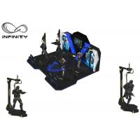 Quality INFINITY Theme Park Virtual Reality Walking Platform Interactive Games With 360 ° Rotation for sale