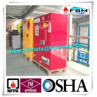 Quality Filtering Combustible Storage Cabinets With PP Board For Hazardous Material for sale