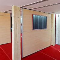 Quality Partition Walls Foam Board With Ceiling And Floor Track For Room Movable Partition Malaysia for sale