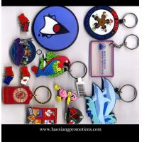 Quality Wholesale OEM factory supply 2d custom shaped soft pvc keychain/keyring for sale