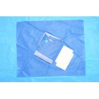 Quality Breathable Non Woven Sterile Medical Gowns Disposable Acid Resistant for sale
