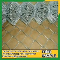 China OakBrookTerrace used chain link fence for sale factory Naperville used diamond mini mesh fencing on sale