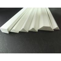 PVC Material Foam Chamer Plastic Extrusion Profiles Fire Resistant for sale