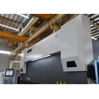 Quality Safety PLC Control 400 Ton Press Brake , Hydraulic Metal Brake 4 Axis With Delem DA58T for sale