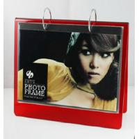Quality red calender 6x8 acrylic photo frame for sale