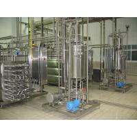Buy cheap UHT milk production line from wholesalers