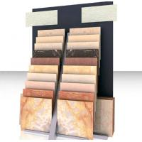 Quality Custom Made Floor Tile Display Rack For Large Supermarket Easy To Move for sale