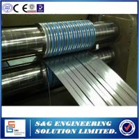 Quality 206.3KW Power Steel Coil Slitting Machine Hr Slitting Line With Scrap Winder for sale