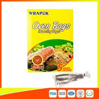 Quality Multi Purpose Oven Cooking Bags For Food Storage , Plastic Oven Bags For Cooking for sale