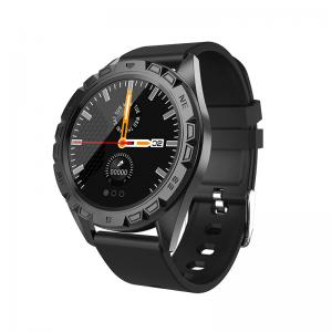 """Quality Alloy Case Silicone Strap 1.22"""" Intelligent Health Bracelet for sale"""