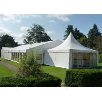 China Luxury Wedding Party Tent 500 People Capacity Hot Dip Galvanized Steel for sale