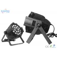 Quality DMX512 Indoor 18* 10W RGBW  LED Par Stage Lights , LED DJ Party Club Par Can Light for sale