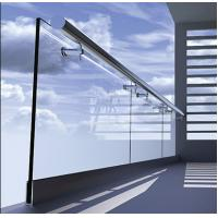 Buy cheap Cheap aluminum U channel frameless tempered glass railing with side mount handrail from wholesalers
