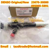 Quality DENSO Original and New Injector 095000-5891/095000-5890 / 23670-30080 /095000-589# TOYOTA for sale