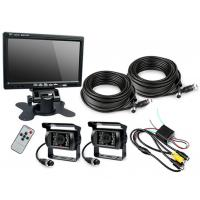 "Quality HD Waterproof IP67 Rugged Truck Trailer Reverse Camera With Colour 7"" LCD Monitor for sale"