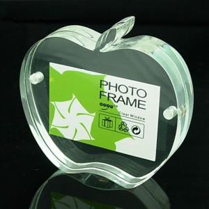 Quality acrylic frameless photo frame for sale