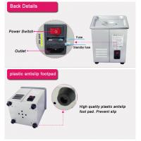 Quality 2L Digital Heated Ultrasonic Cleaner Dental UseFor Denture Surgical Instruments for sale