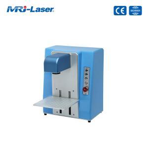 Quality 110V 220V 30W Fiber Laser Marking Machine For Metal and Plastic for sale