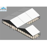 Buy cheap 10x15m And 10x5m Duty Structure Wooden Floor White PVC Cover European Style Tent For Trade Reception from wholesalers