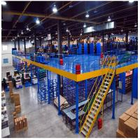 Quality Long Span Warehouse Rack And Shelf Cold Rolled Steel Column H Beam Platform for sale