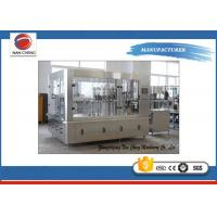 Quality Automatic Soda Carbonated Drinks Filling Machine 2200 X 1600 X 2200mm 3000BPH for sale
