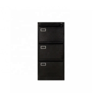 China Waterproof Powder Coated Steel 3 Drawer Filing Cabinet on sale