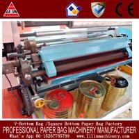 Quality pp fabric film flexographic printing mahcine CE certificate with closed chamber doctor blade for sale