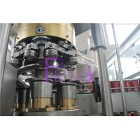 High Speed Coke Filling Machine , 2 In 1 PLC Can Filling Line