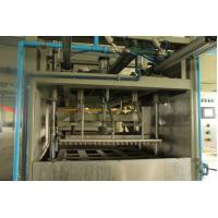 Quality PLC Control Reciprocate Paper Pulp Molding Machine With Single Layer Dryer for sale