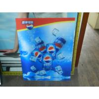 Quality OK3D Lenticular 3d printing high quality depth 3D effect Lenticular beer billboard-3D Lenticular poster advertising for sale