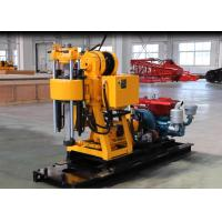 China Advanced Skid Type Core Drilling Rig With Hydraulic Customer Color for sale