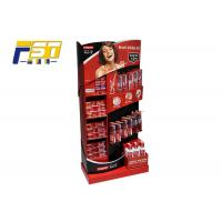 China L Shape Cardboard POP Displays Paper Material Printing With Glossy Lamination on sale