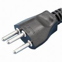 China Swiss Power Cord, Various Lengths are Available for sale