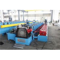 Upright Sheet Metal Forming Machine , Gutter Roll Forming Machine Gear Box