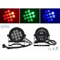 Quality Ip65 Par 64 Led Lights 12*10w Rgbw Color Mixing Ac100 - 240v for sale