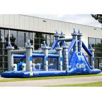 China Playground Adult Inflatable Obstacle Course Adrenaline Rush OEM Service on sale