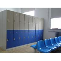 Quality Lightweight Double Tier Lockers , Blue Door Staff Room Lockers For Hospitals for sale