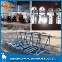 Buy 42mm*3 Round Tube Cattle Feed Barrier Gates For Livestock Farm at wholesale prices