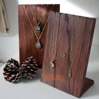 Quality Wooden Retail Mdf Jewellery Necklace Display StandsHandmade Craft for sale