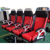 Quality Pneumatic System 6d Motion Theater With Spary Water , Sweep Leg , Can Holding 200 People for sale